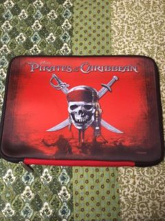 Pirates of the Caribbean soft cover laptop case
