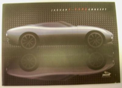 Find 2000 Jaguar F-Type Concept Car Press Kit Detroit Auto Show Roadster Rare! motorcycle in Holts Summit, Missouri, United States, for US $39.98