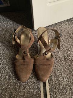 Nine West wedged heel