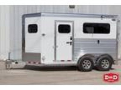 2019 Cimarron Trailers Norstar 2 Horse Thoroughbred Trailer 2 horses