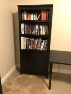 Set of 5 shelf bookcases