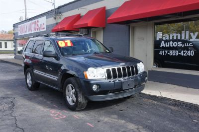 2007 Jeep Grand Cherokee Limited (Blue)
