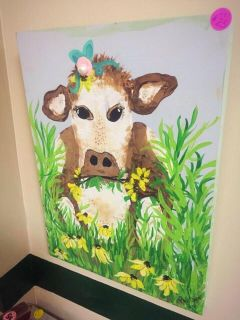 Millie the Cow by local Artist