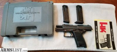 For Sale: H&K .40cal USP Compact
