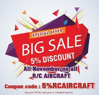 Special Offer- Mega Sale on RC Airplanes