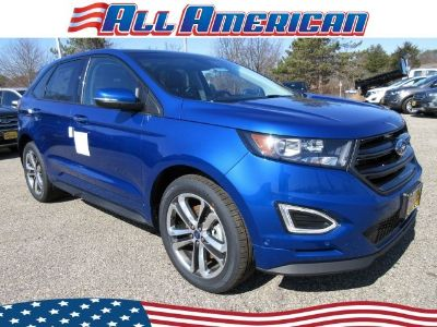 2018 Ford Edge (Lightning Blue Metallic)