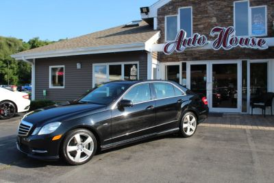 2012 Mercedes-Benz E-Class E350 4MATIC Luxury (Black)