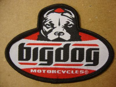 Buy BIG DOG MOTORCYCLE SM DOG PATCH CLOTH BDM HAT JACKET CHOPPER MASTIFF K-9 motorcycle in Lyons, Kansas, United States, for US $29.99