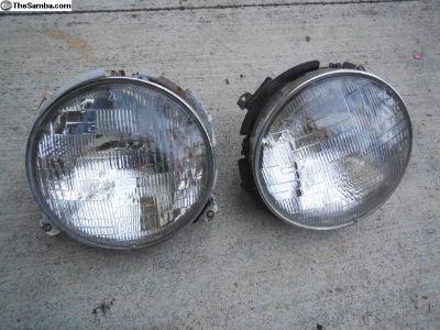 Porsche 911 / 912 Early Headlight Buckets