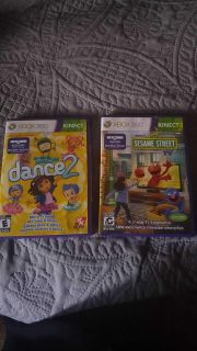 Children's XBOX360 Kinect Games