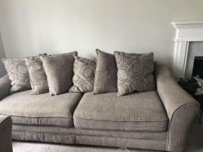 Couch -loveseat and side chair