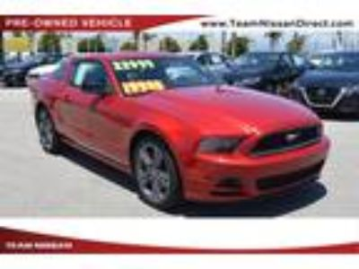 Used 2013 Ford Mustang Red, 1.61K miles