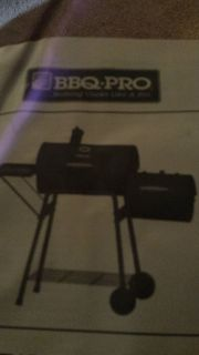 double bbq barrel grill and smoker