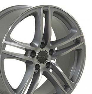 Sell 18 x 8 Silver R8 Wheel Rim Fits Audi A4 S4 A6 A8 W1x motorcycle in Sarasota, Florida, United States, for US $94.25