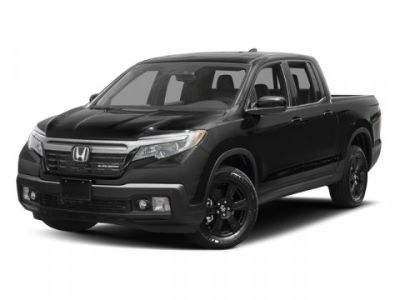 2017 Honda Ridgeline Black Edition 4x4 Crew Cab 5.3 (Black)