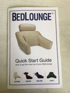 Microfiber bed lounges like new retail 138.00 ea