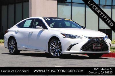 2019 Lexus ES 350 (white)