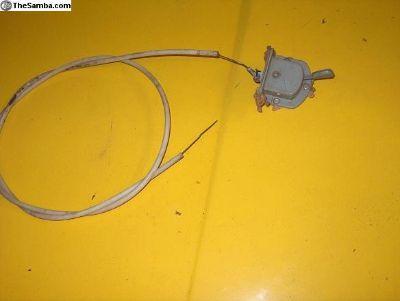 Hood Cable - '68 Bug