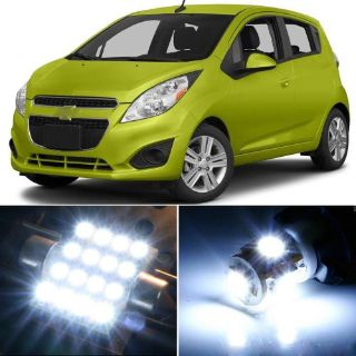 Purchase Premium Xenon White LED Lights Interior Package Upgrade for Chevy Spark motorcycle in Chicago, Illinois, United States