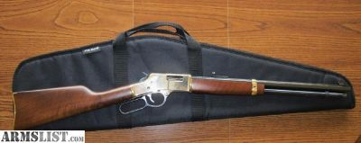 For Sale: Henry .357 Big Boy rifle with Skinner peep sight.