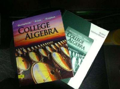 $65 UAA MATH 107 College Algebra Pack