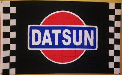 Find Datsun Checkered 3' X 5' Flag Indoor Outdoor Automotive Banner motorcycle in Deer Park, Washington, United States, for US $22.50