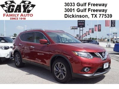 2016 Nissan Rogue S (Cayenne Red)