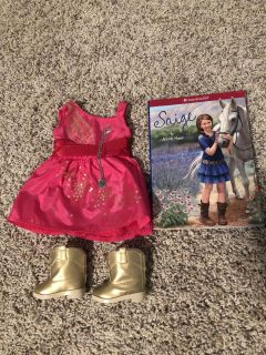 American Girl Sage s Party Dress
