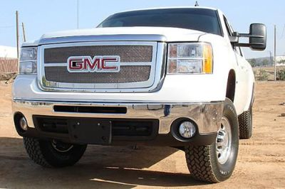 Sell T-Rex 07-10 GMC Sierra Billet Grille Upper Class Polished Mesh Grill 54207 motorcycle in Corona, California, US, for US $444.50