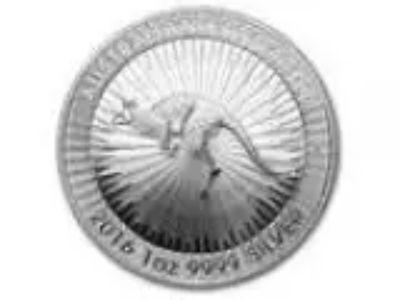 Australian Kangaroo oz Silver Coin