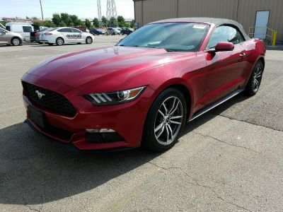 2016 Ford Mustang 2dr Conv EcoBoost Premium (Ruby Red Metallic Tinted Clearcoat)