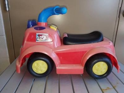 Fisher Price Fire Truck Ride-On