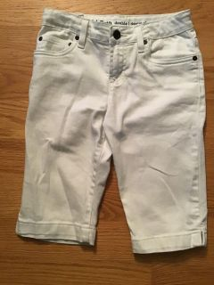 Jeans shorts worn once and now too small. Size:10