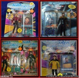 Star Trek the next Generation Skybox Figurines