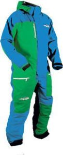 Find HMK Mens One Piece Suit Blue/Green motorcycle in Holland, Michigan, United States, for US $377.95