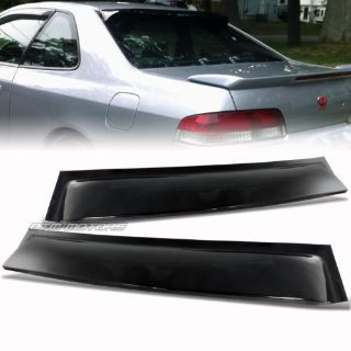 Sell JDM Black Rear Roof Visor Window Spoiler Wing For 97-01 Honda Prelude NEW motorcycle in Rowland Heights, California, United States