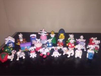 101 Dalmations McDonalds Happy Meal Toys