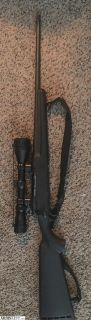For Sale: Savage Arms Bolt Action 223 with scope