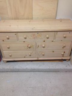 $550, Twin Bedroom Set Real Wood-- For Sale- Excellent Condition