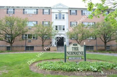 1-Bedroom Condo For Rent - 412 N. Wayne Avenue, #207 - Available Now!