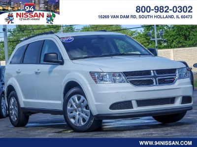2018 Dodge Journey SE (White)