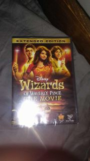 Never opened. Wizard's of Waverly place movie