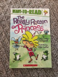The Really Rotten Princess paperback book