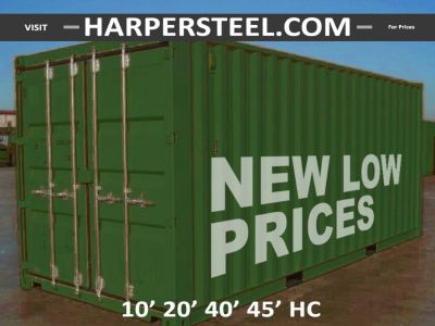 Steel Shipping Containers San Diego - Largest Selection W/Delivery Options!
