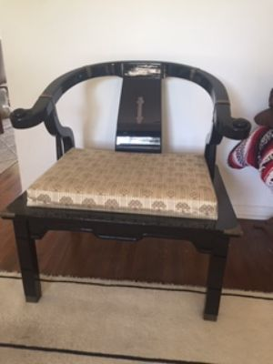 Antique Chair, 6ft down sofa and 2 lounge chairs