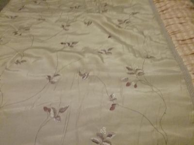 Queen size bedspread pictures do not do this Justice.