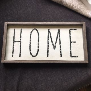 HOME Wooden Wall Decor