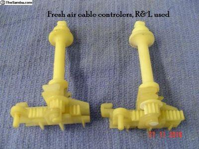 Fresh air controls, Bug & SB Pair