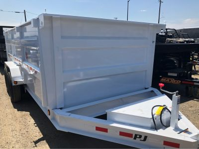 "2019 PJ Trailers 16' x 83"" LOW PRO XL HIGH SIDE DUMP Equipment Trailer Trailers Elk Grove, CA"