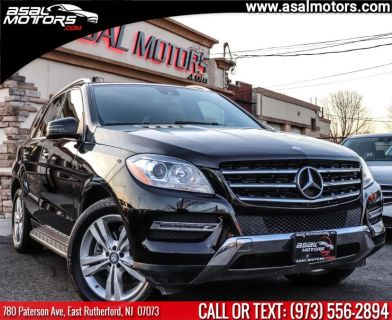 2014 Mercedes-Benz M-Class ML350 4MATIC (Black)